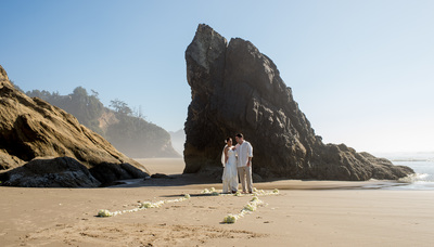 Wedding Photographers Cannon Beach